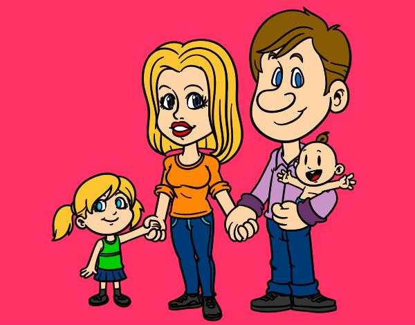 famiglia-felice-famiglia-dipinto