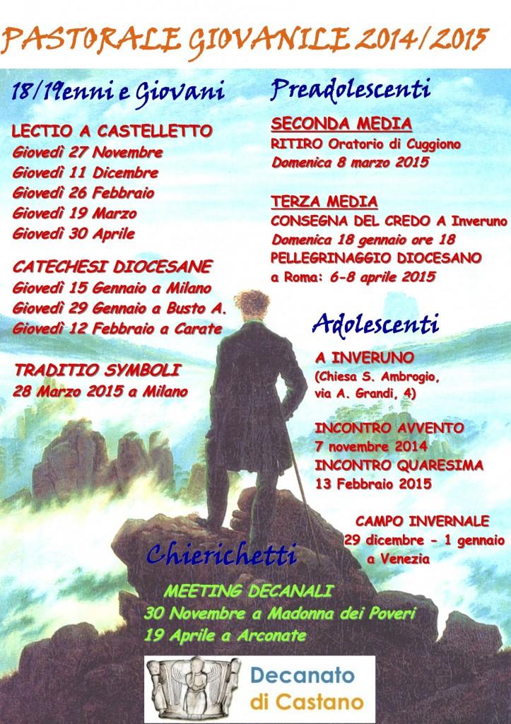 pastorale giova 2014