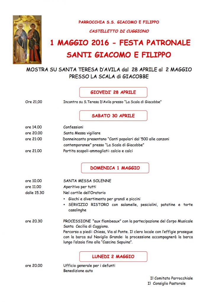 Festa Castelletto 2016