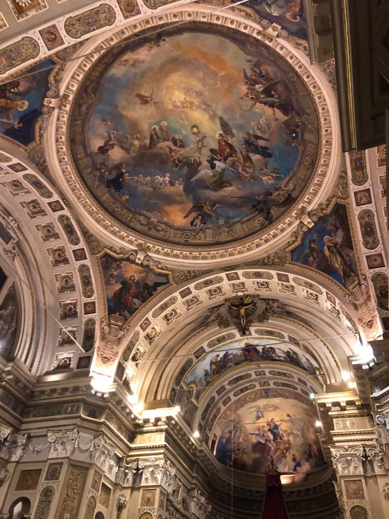 Affreschi della Basilica