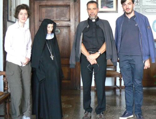 Chiara e la professione religiosa